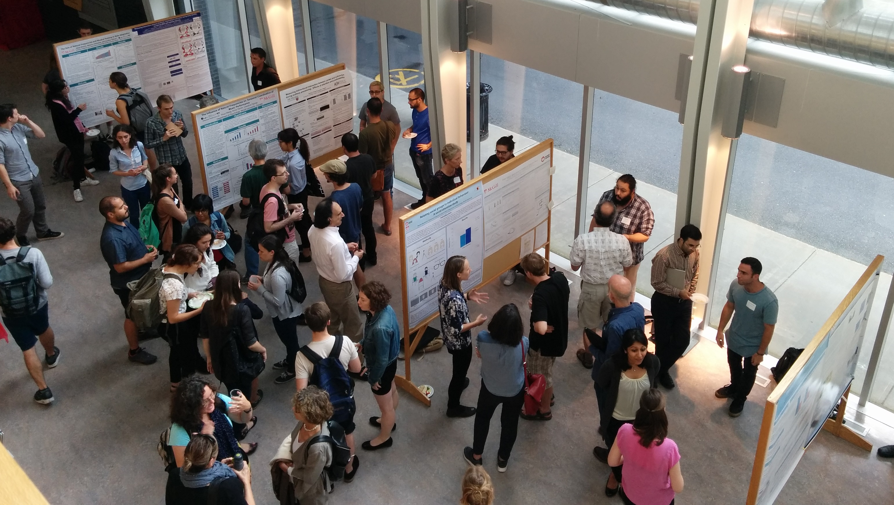 Nonlinear Dynamics Poster Session, Aug 15, 2017